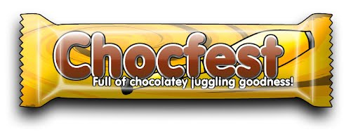 Chocfest - York Juggling Convention logo