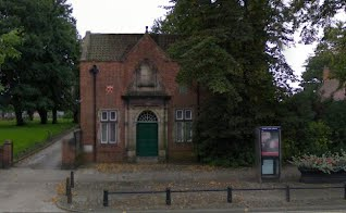 St Lawrences Church Hall Entrance